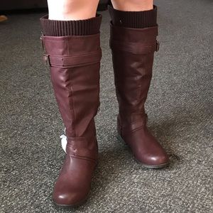 JustFab boots. Brand new.